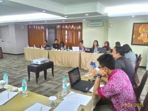 Rapat Kegiatan Evaluasi dan Penyusunan Darmasiswa RI