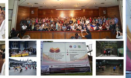 Closing Ceremony Darmasiswa Student of 2014/2015 (Bukit Tinggi,Padang)