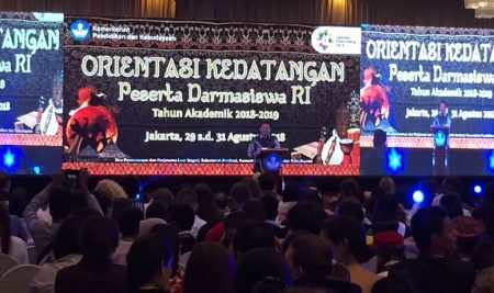 Darmasiswa RI Academic Year 2018/2019 Opening Ceremony
