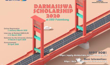 Darmasiwa Scholarship at Universitas Bina Darma Palembang