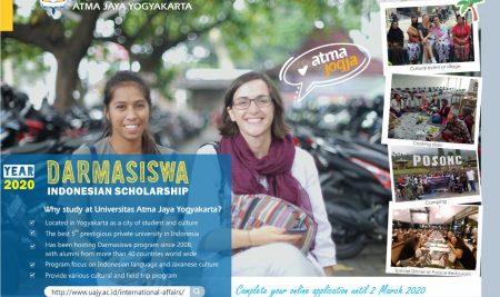 Darmasiswa Program at Yogyakarta (Universitas Atma Jaya Yogyakarta)